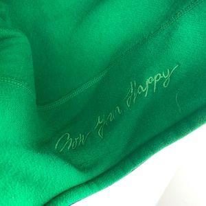 lululemon athletica Jackets & Coats - Lululemon Scuba Hoodie Fleece Green & Navy Stripes